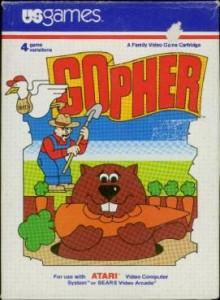 Gopher - Atari 2600