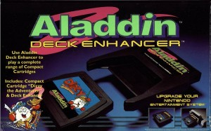 The Aladdin Deck Enhancer for NES - them cheatin bastards