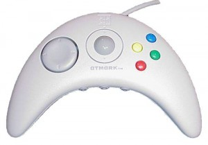 The Pippin 'Apple-Jack' controller - note the integrated track ball